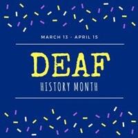 Deaf History Month